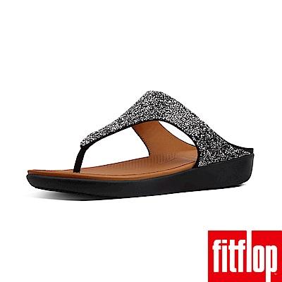 FitFlop BANDA夾腳涼鞋黑色