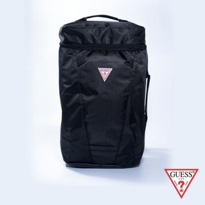 GUESS-男包-運動休閒後背包-黑