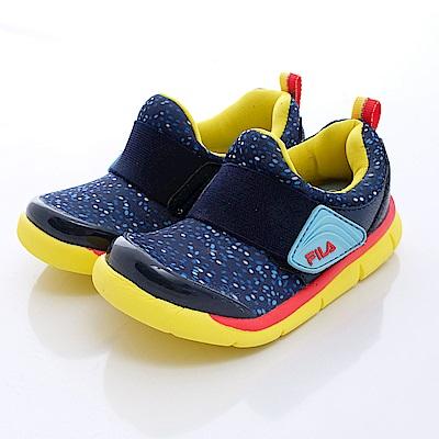 FILA頂級童鞋款 輕巧亮彩款 EI58Q392藍(中大童段)0