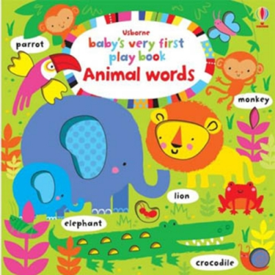 Baby s Very First Play Book Animal Words 單字書:動物篇