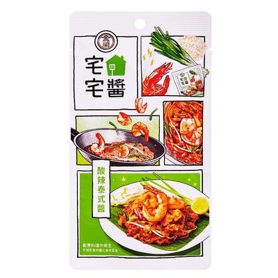 金蘭食品 宅宅醬-酸辣泰式醬110g