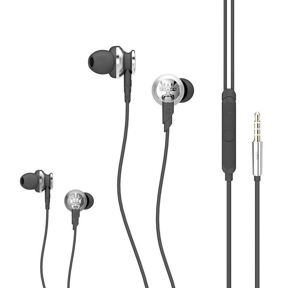 UiiSii Hi-805獨特臉譜造型入耳式線控耳機 @ Y!購物