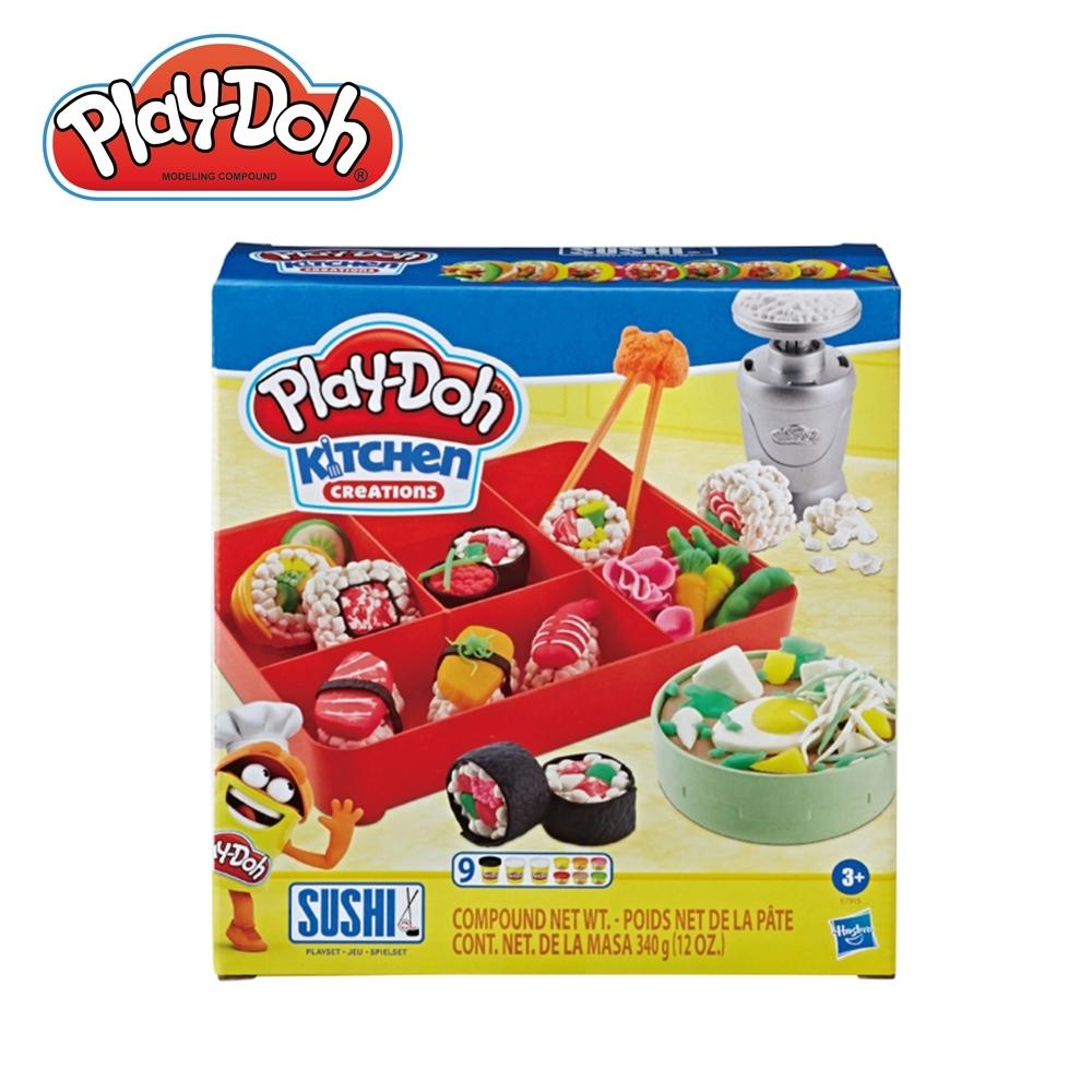Play-Doh 培樂多-廚房系列 壽司遊戲組 無毒黏土 創意DIY