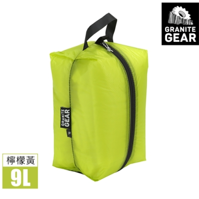 Granite Gear 182230 Air ZippSack 拉鍊式立體收納袋 (9L) / 檸檬黃