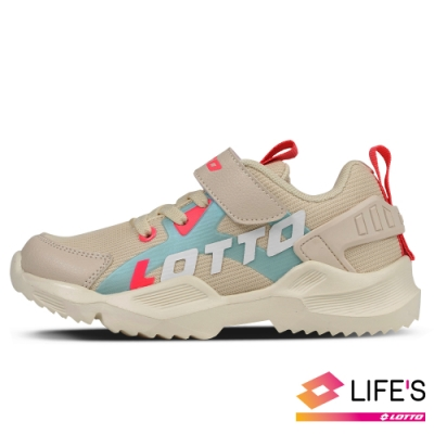 LOTTO 義大利 童鞋 EASY RIDE 輕量跑鞋(米)