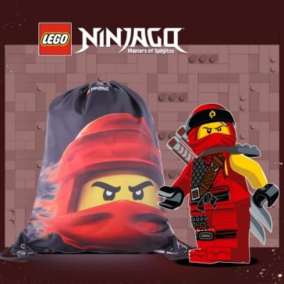 LEGO丹麥樂高束口包-火紅忍者 10034-2001