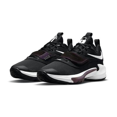 NIKE 籃球鞋 運動鞋 緩震 字母哥 男鞋 黑紫 DA0695-001 ZOOM FREAK 3 EP
