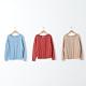 【CUMAR】素色簡約菱格造型-針織衫(三色/魅力商品/版型適中) product thumbnail 1