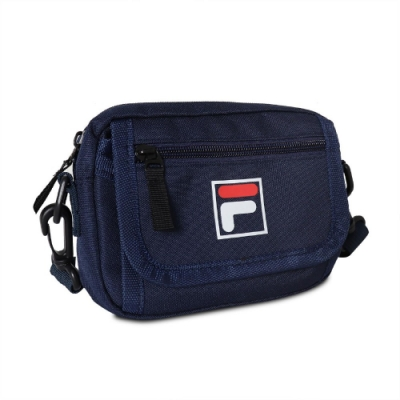Fila 斜背包 Crossbody Shoulder Bag 斐樂 外出 小包 穿搭 背帶可調 輕便 藍 白 BMV3018NV