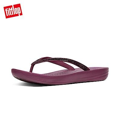 FitFlop IQUSHION夾腳涼鞋深莓色