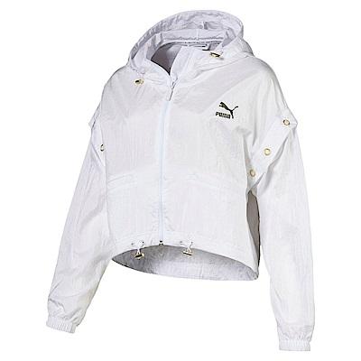 PUMA-女性流行系列Retro風衣外套-白色-亞規