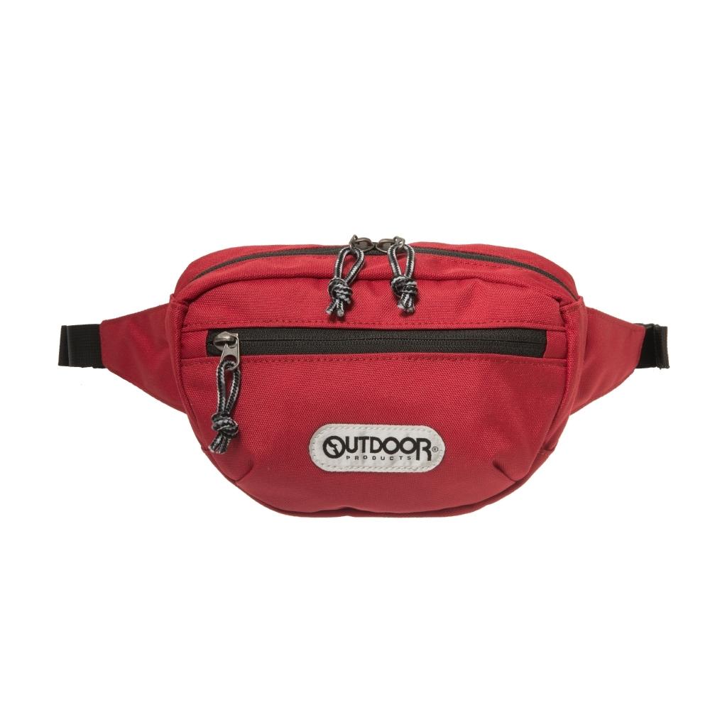 【OUTDOOR】旅遊配件-腰包-紅色 OD191105RD