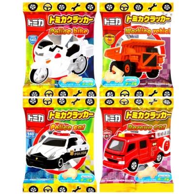 Mitsuyaseika TOMICA汽車造型小餅乾-4連 (56g)