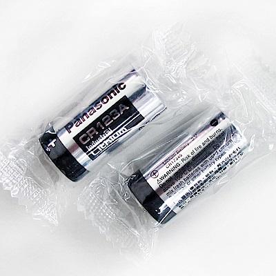 Panasonic 國際牌 CR123A 一次性鋰電池(4顆入-無吊卡密封包裝)