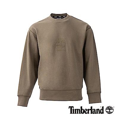 Timberland 男款SLS 葡萄葉 大樹LOGO大圓領運動衫|A1N9K