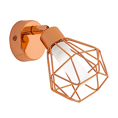 EGLO歐風燈飾 歐式金鳥籠造型壁燈