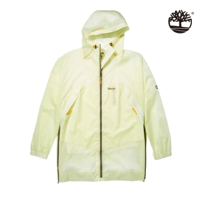 Timberland 男款亮綠色FIELD TRIP輕量防水連帽外套|A24ZW