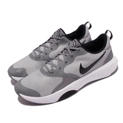 Nike 訓練鞋 City Rep TR 運動 男鞋 健身房 輕量 舒適 避震 球鞋 穿搭 灰 白 DA1352-003