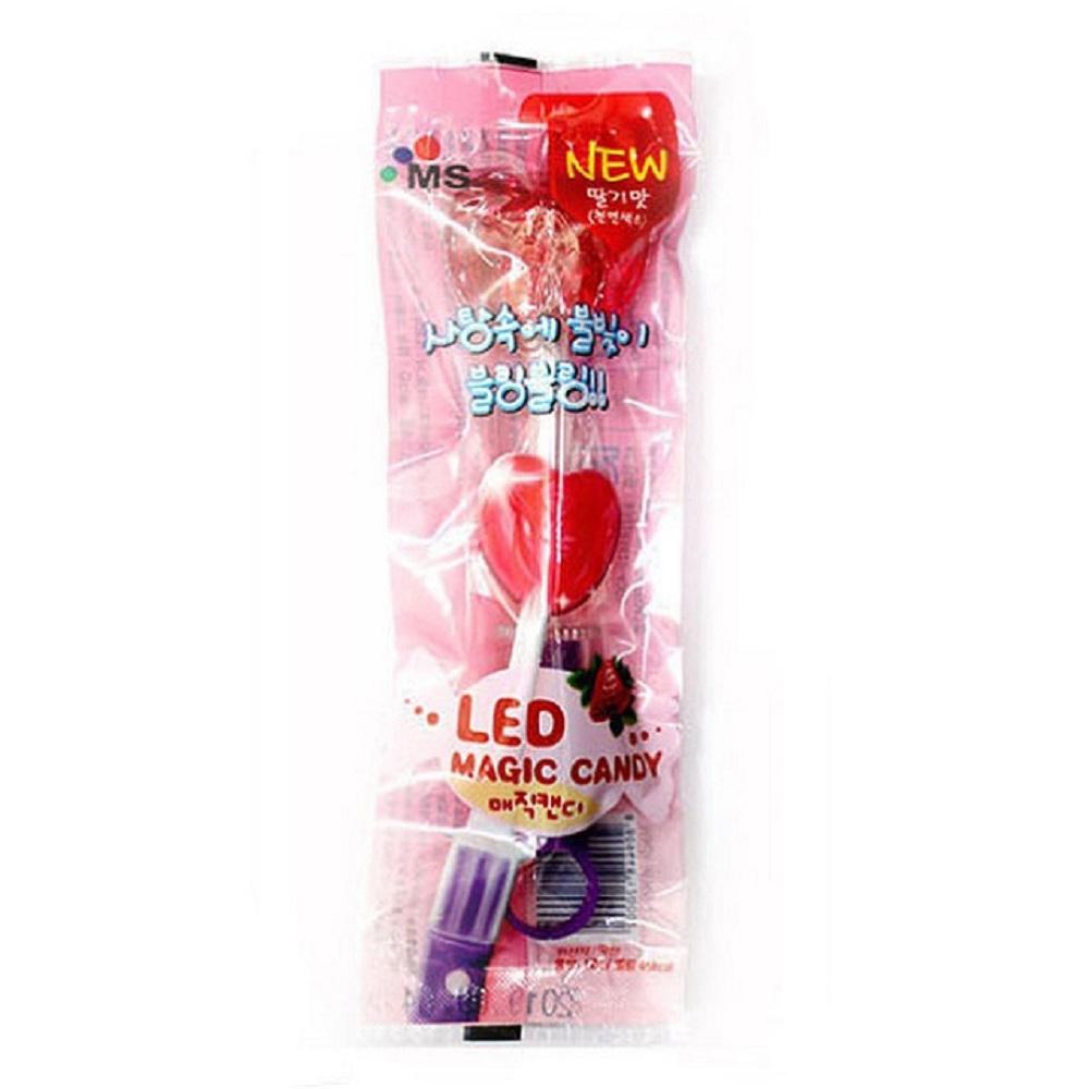 (活動)MS 韓國LED棒棒糖-草莓口味(12g)