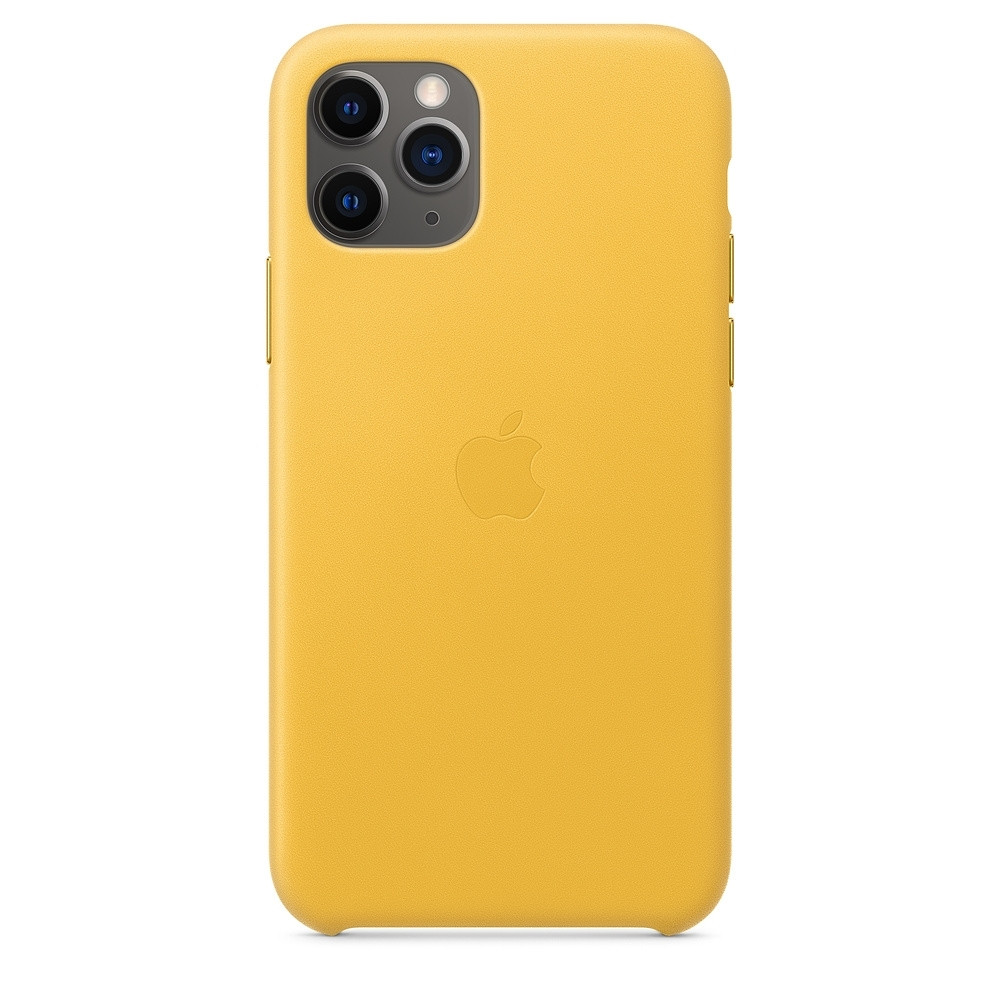 原廠 Apple iPhone 11 Pro Max皮革保護殼