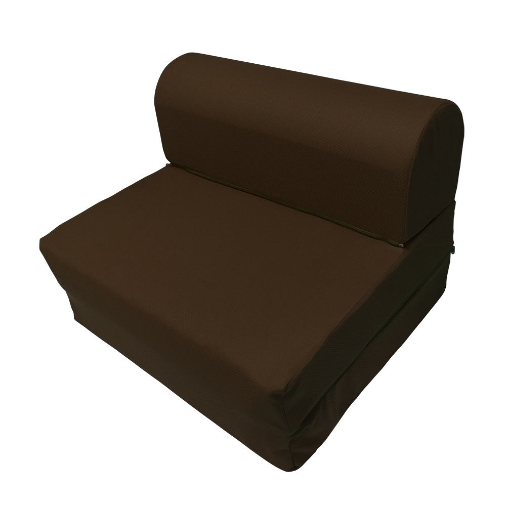 戀戀鄉 單人3尺三折彈簧沙發床 沙發椅 布沙發-四色可選
