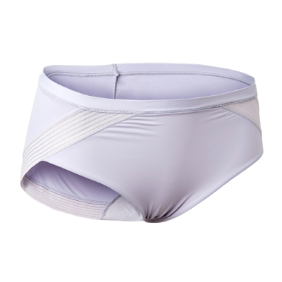 黛安芬-魔術隱形V系列平口內褲 M-EL 羽毛灰