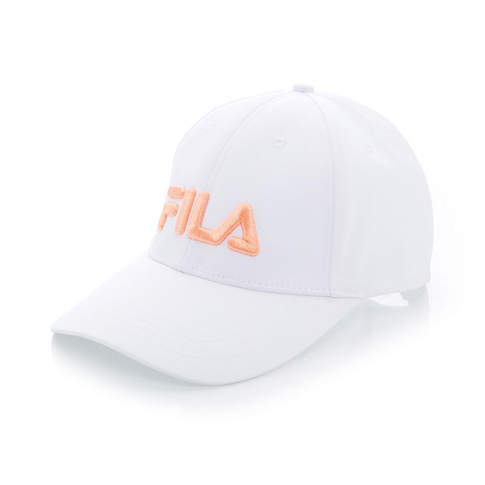 FILA 經典款六片帽-橘 HTT-1002-OR