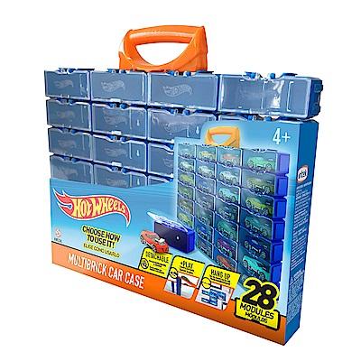 MATTEL 風火輪小汽車收納盒-28入(4Y+)