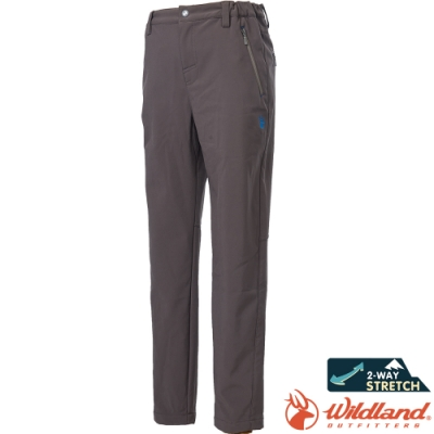 Wildland 荒野 0A62362-82卡其色 中童輕三層防風保暖褲