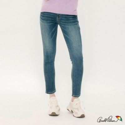 Arnold Palmer -女裝-基本合身版牛仔褲-中藍色