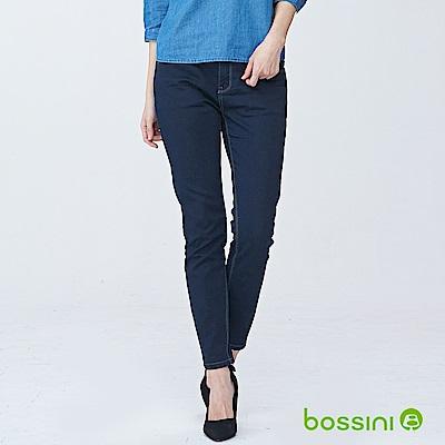 bossini女裝-合身牛仔褲01霧靛藍