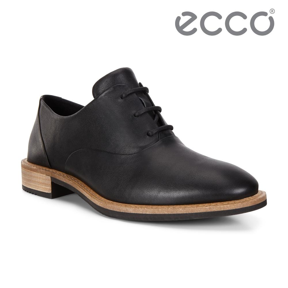 ECCO SARTORELLE 25 TAILORED 英倫風細緻牛津皮鞋 女鞋 黑