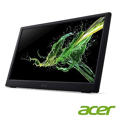 (福利品)Acer PM161Q 16型可攜式IPS電腦螢幕 支援TYPE-C 內附保護套 方便攜帶