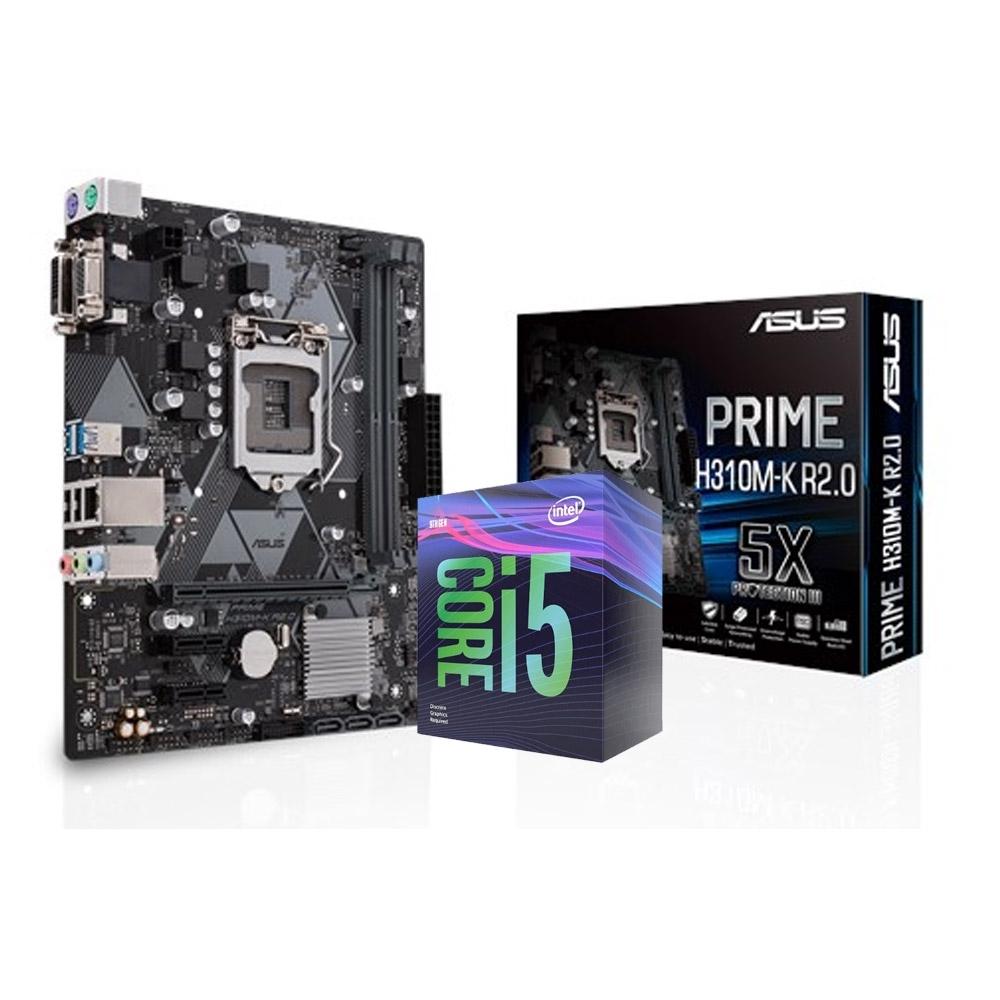 華碩 PRIME H310M-K R2.0 +Intel i5-9400F