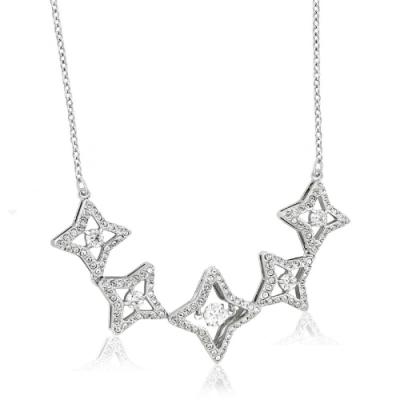 SWAROVSKI Sparkling Dance 星星造型水晶鑲嵌墜飾項鍊