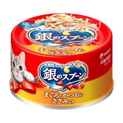 銀湯匙 貓罐頭雞肉(70g x 24罐)