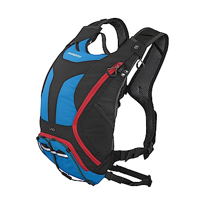 【SHIMANO】UNZEN 10L 自行車水袋背包 英國藍色