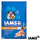 IAMS 愛慕思 健康優活 體重控制 雞肉 成犬糧 7磅 2包組