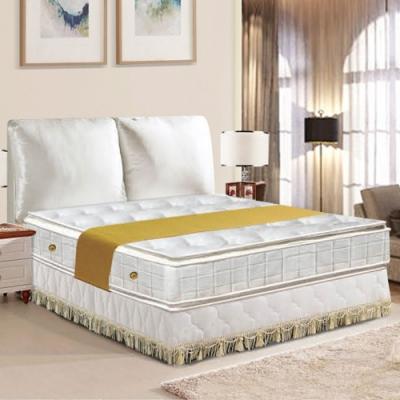 布萊迪 Brady  優眠五段式正四線乳膠+記憶棉獨立筒床墊-單人加大3.5尺
