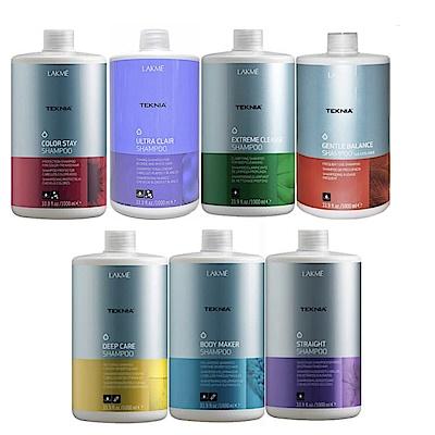 [時時樂限定]LAKME 專業護色洗髮精1000ml 兩瓶組(矯色多款等任選)