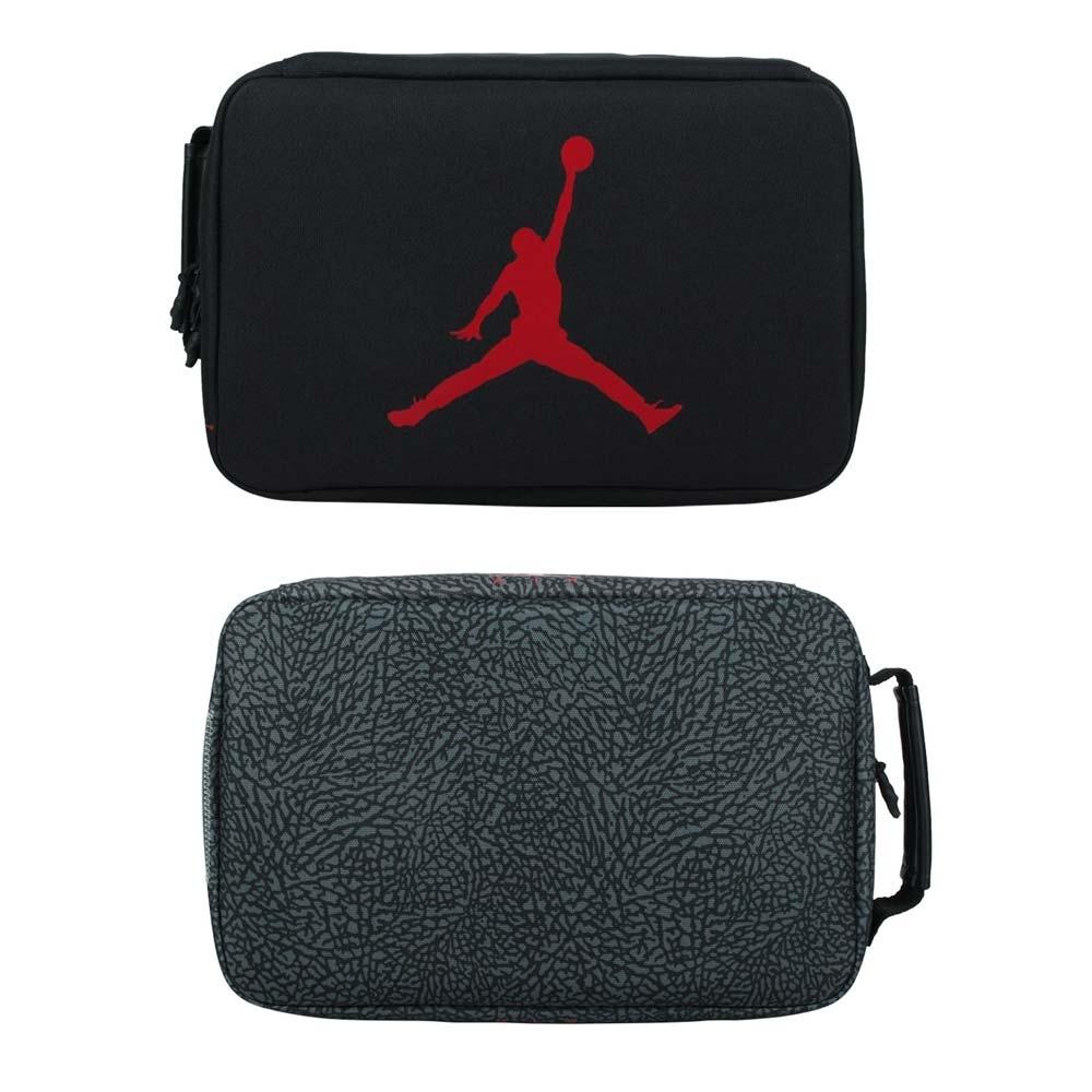 NIKE JORDAN鞋盒包-鞋袋 手提袋 鞋履收納 喬丹 飛人 JD2113042AD-002 黑紅