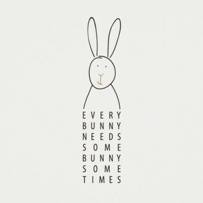 《RADER》手工童趣卡片(兔子)