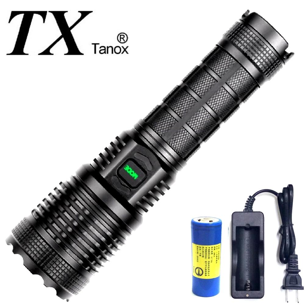 TX特林XHP-70 LED超強亮USB充電手電筒(T-2020X-P70)