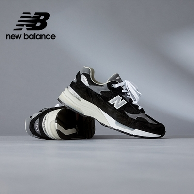 【New Balance】美製復古運動鞋_中性_黑灰_M992EB-D楦