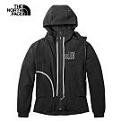 The North Face北面女款黑色防潑水舒適風衣|3VSBJK3