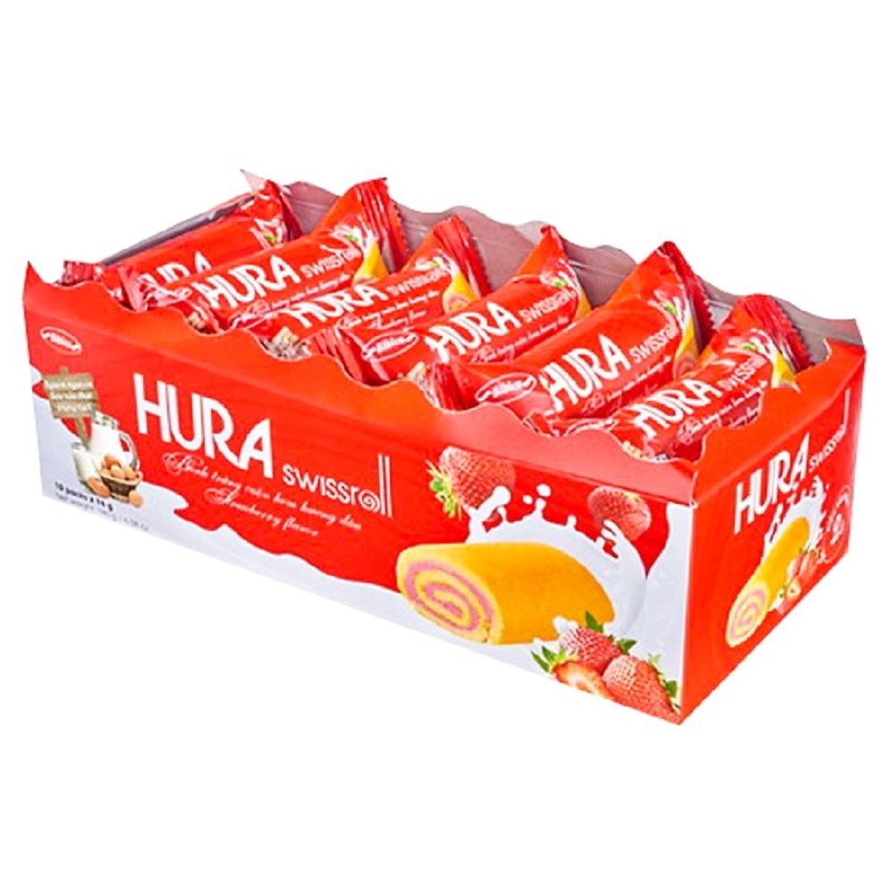 HURA草莓風味糕餅(180g)