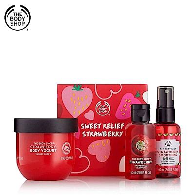 The Body Shop 草莓嫩白保水美肌禮盒