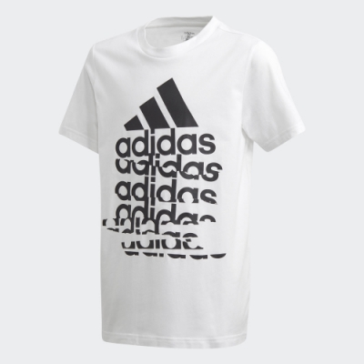 adidas BADGE OF SPORT 短袖上衣 男童/女童 GD6116