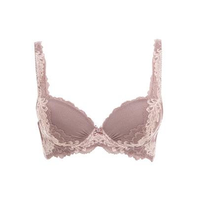 黛安芬-美型系列質感無痕 B-D罩杯內衣 透膚粉