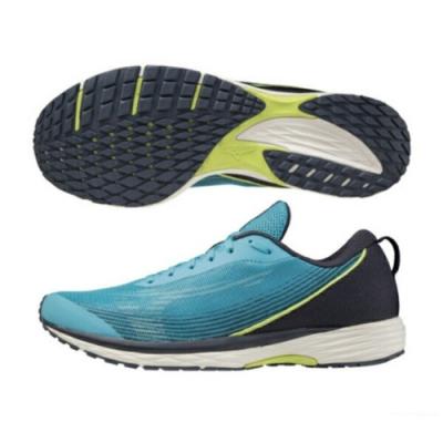 MIZUNO DUEL SONIC 男路跑鞋 藍-U1GD213625
